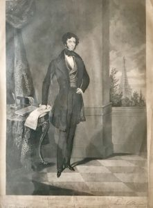 Thomas Slingsby Duncombe, from a print distributed by the Northern Star