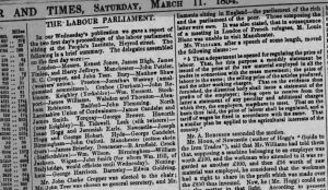 Manchester Times March 11 1854