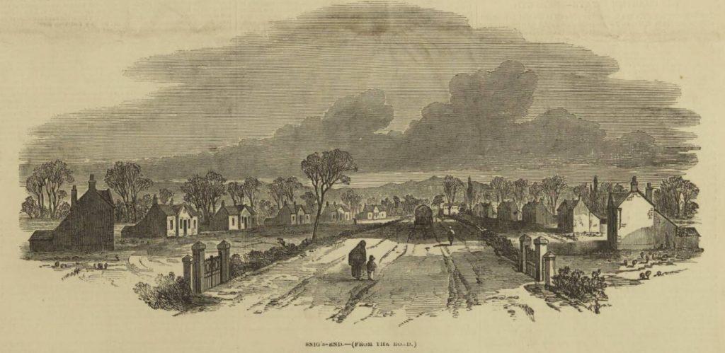 Snigs End 23 Feb 1850 Illustrated London News
