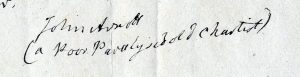 Arnott's signature